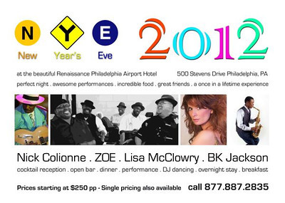 New Years Eve 12-31-12 IJazzGlobal.com featuring Nick Colionne, ZOE,  Lisa McClowry, and BK Jackson