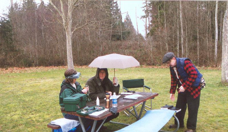 When I lived on Bainbridge Island, I started doing bird banding. It was pretty interesting!