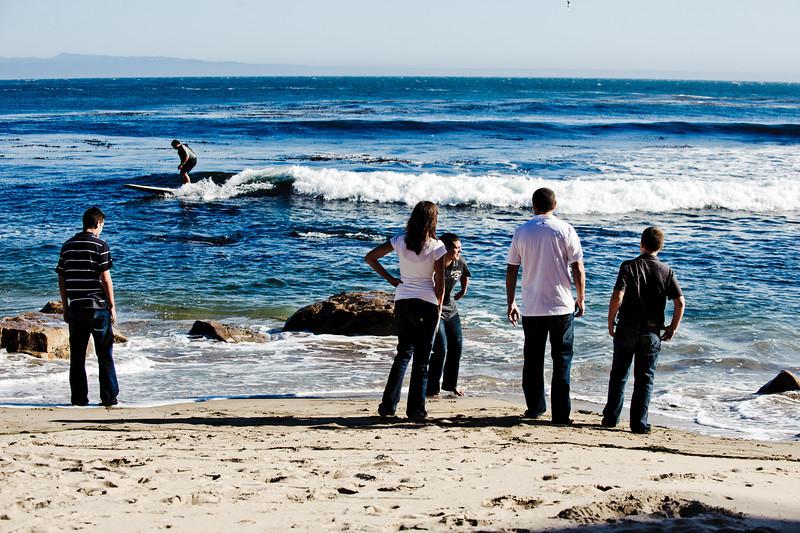 Shari + Jeff = Trevor > Justin > Tyler - Family Photography, Four Mile Beach, Santa Cruz, California