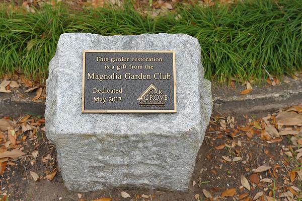 OGCS Membership Meeting and Dedication to the Magnolia Garden Club 03-10-18