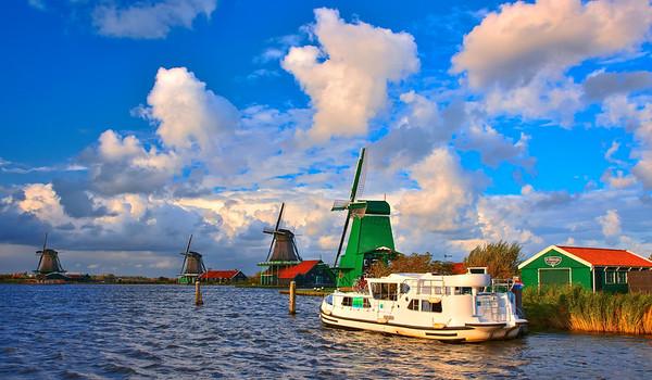 Hausboot Holland