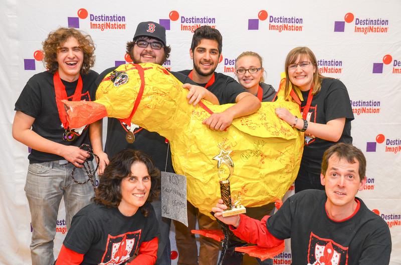 2nd place, Pandemonium, Pinkerton Academy, Derry #130-42034