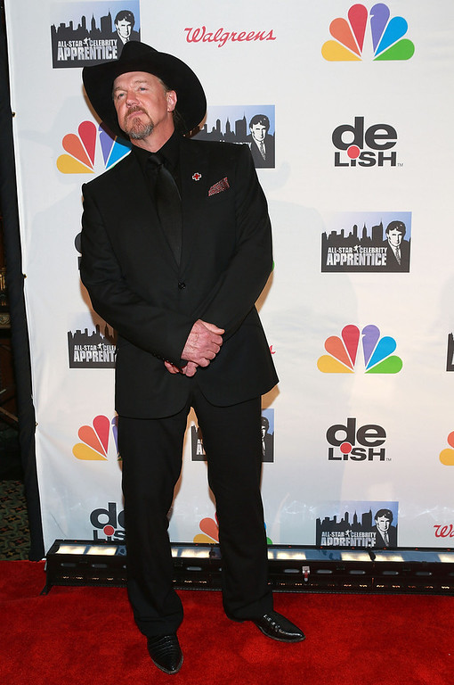 """. Trace Adkins attends \""""All Star Celebrity Apprentice\"""" Finale at Cipriani 42nd Street on May 19, 2013 in New York City.  (Photo by Robin Marchant/Getty Images)"""