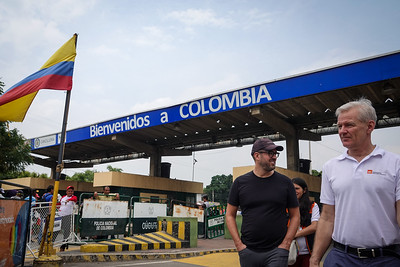 Jan's visit to the Colombia and Venezuela border