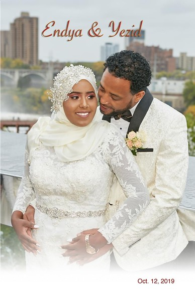Endya & Yezid Wedding Book