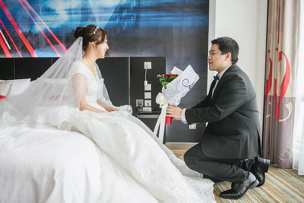 WEDDING 桃園婚禮|台北諾富特華航桃園機場飯店