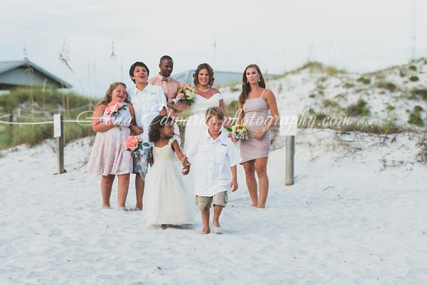 Mr. and Mrs. Campbell  |  Panama City Beach