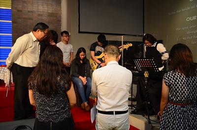Consecration Sunday (1 Jan 2017)