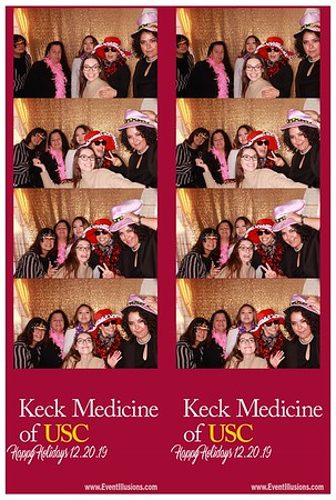 KECK Medicine of USC Holiday Party 2019