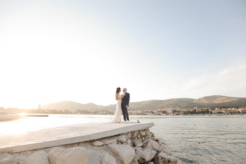 Tihana & Sebastian, Ciovo, Croatia