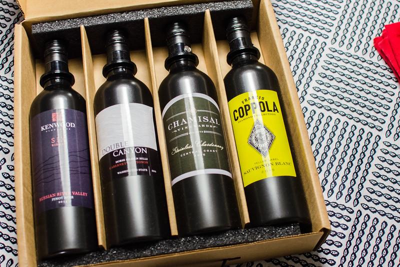 Kuvee智能酒瓶系统:葡萄酒墨盒
