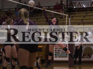 2016 - MCHS Varsity Volleyball vs Carmi