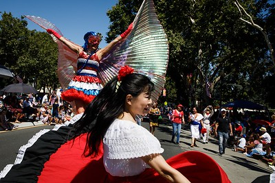 Photos: San Jose celebrates Forth of July with 12th 'Rose White and Blue' parade