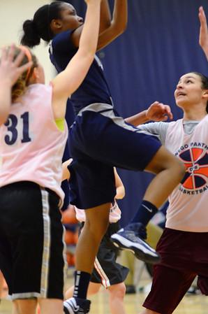 OE girls Jv Basketball Vs Oswego 2013