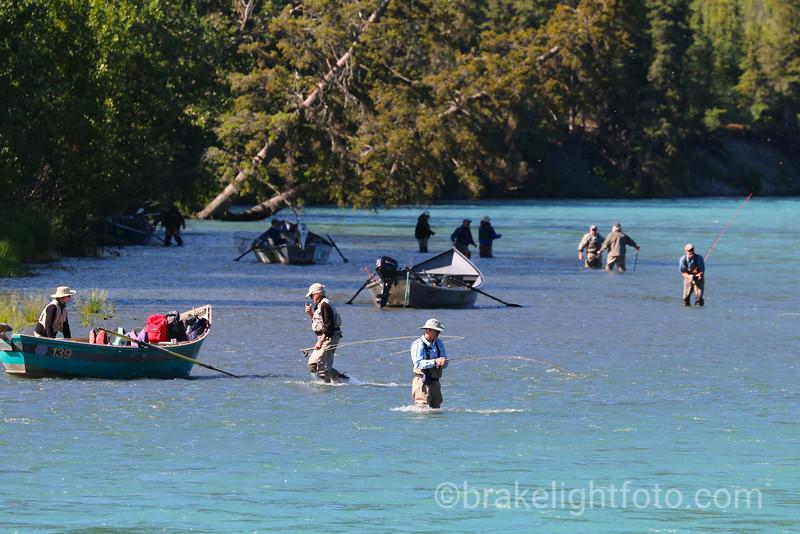 Fishing on the Kenai River