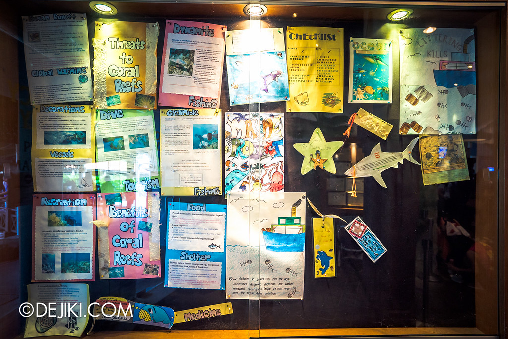 Underwater World Singapore - Kids' Notes