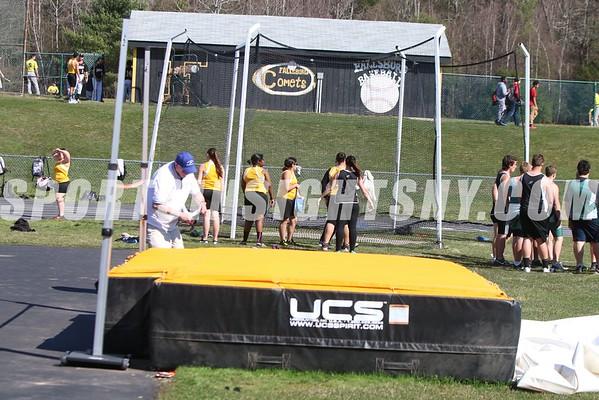 Fallsburg vs. Sullivan West and Eldred Track