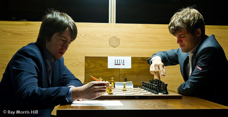 Round 13: Teimour Radjabov vs Magnus Carlsen