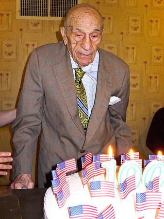 Abe's 100th Birthday Party