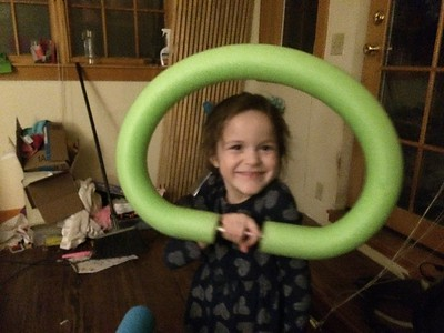 Now exactly a hula hoop