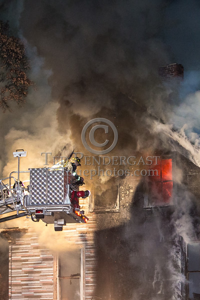 Watertown MA - 2 Alarms on Galen St