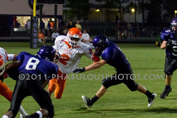 Boone JV Football #2 - 2011