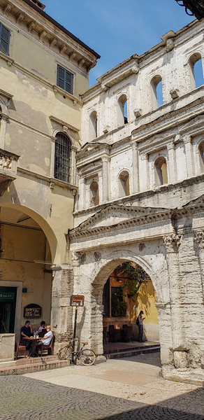 Verona's Roman Arch