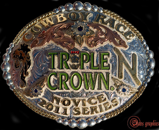 Triple Crown Novice Buckle Series #3