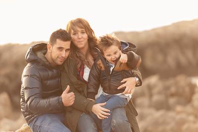 Sesión familiar Pablo, Ruth y Carlos