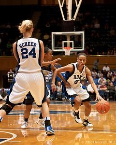 Duke vs Xavier, 12/21/2010