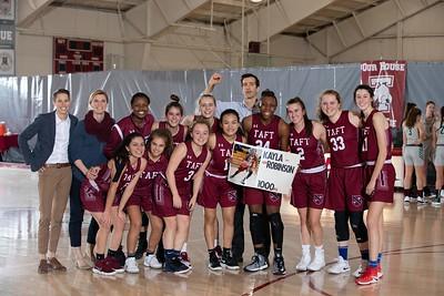 2/19/19: Girls' Varsity Basketball v Miss Porter's