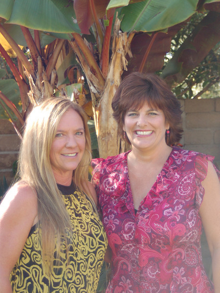 Jeanne Rodriguez and Tracie McBride