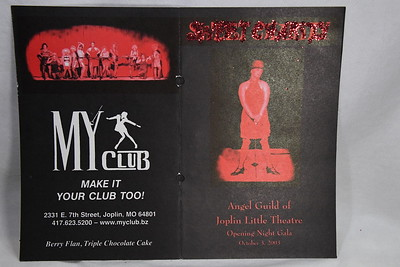 10-3-2003 Angel Guild Opening Night @ Sweet Charity - JLT