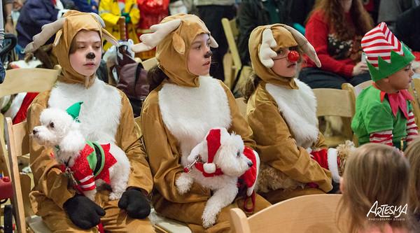 Reindog Parade At Atl Bot Gardens