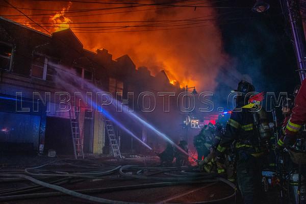 Mineola F.D. Building Fire 101 Main Street 03-15-20