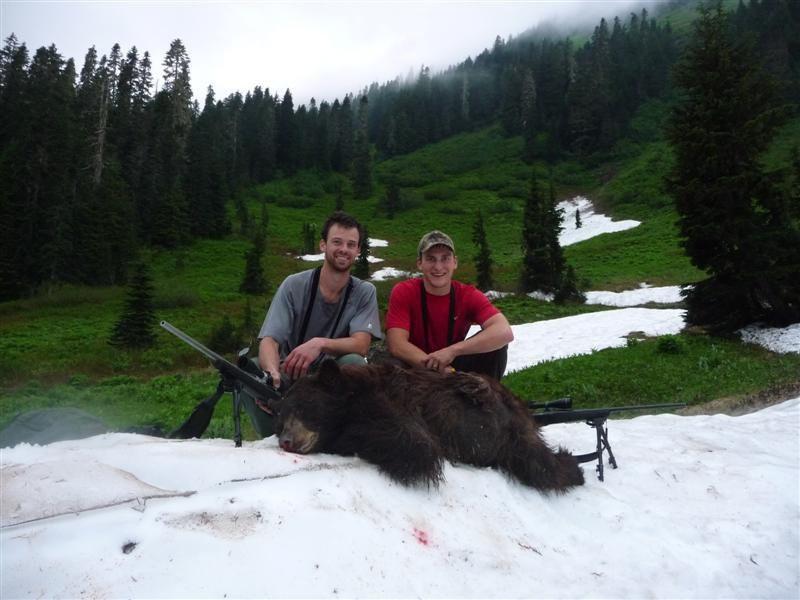 2011 Washington Opening Day black bear