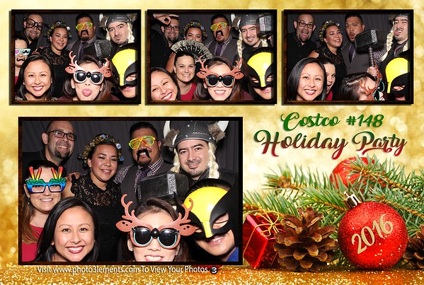 Costco 148 Holiday Party 12-4-16