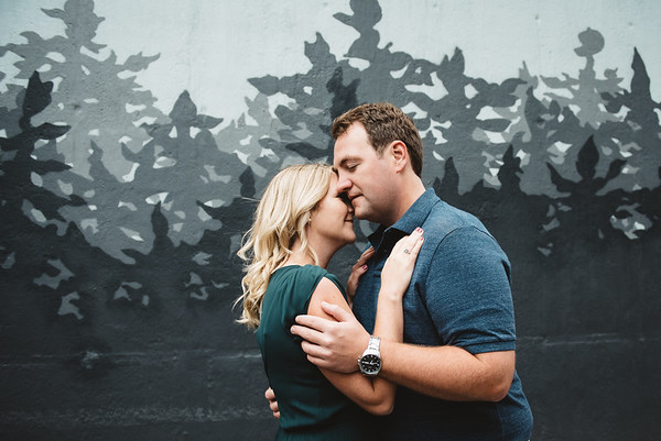 Best Friends: A Downtown Edmonton Fall Engagement