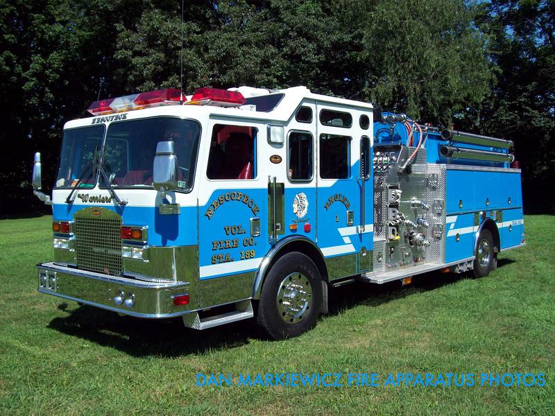 NESCOPECK VOLUNTEER FIRE CO. ENGINE 159-1 2003 KME PUMPER