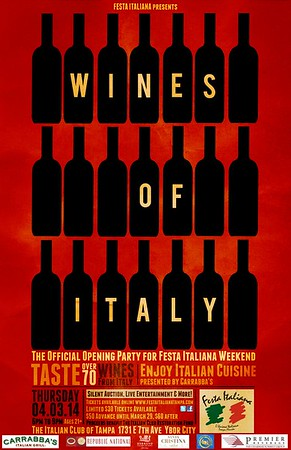 Wines of Italy at The Italian Club