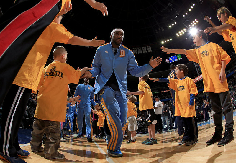 . Ty Lawson #3 of the Denver Nuggets takes the court to face the Utah Jazz at the Pepsi Center on January 5, 2013 in Denver, Colorado. (Photo by Doug Pensinger/Getty Images)