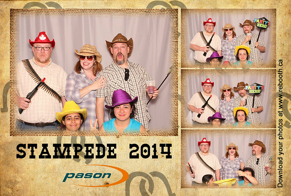Pason System Corp Annual Stampede Party 2014