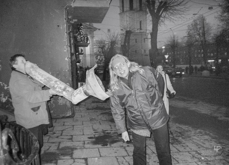 Du fotografai-Vladas Ščiavinskas ir Jonas Staselis