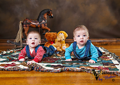 Giovanni and Matteo - 6 Months, 20141120