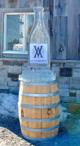 Winter Winederland at Altamont Vineyard and Winery
