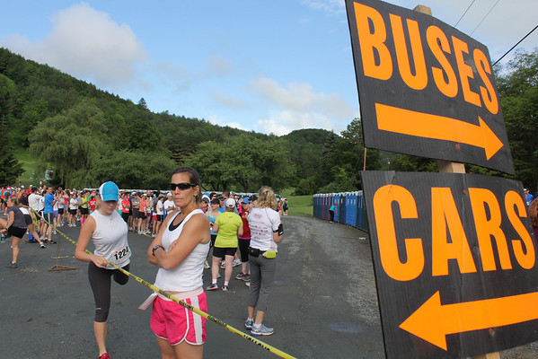 Covered Bridges Half Marathon, 2012