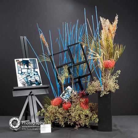 Art In Bloom 16:9 Display