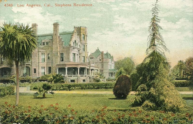 Los Angeles, Cal., Stephens Residence