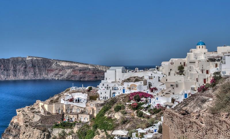 Santorini - greek island hopping