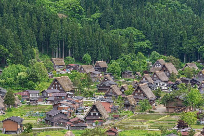 Historical village of Shirakawa-go